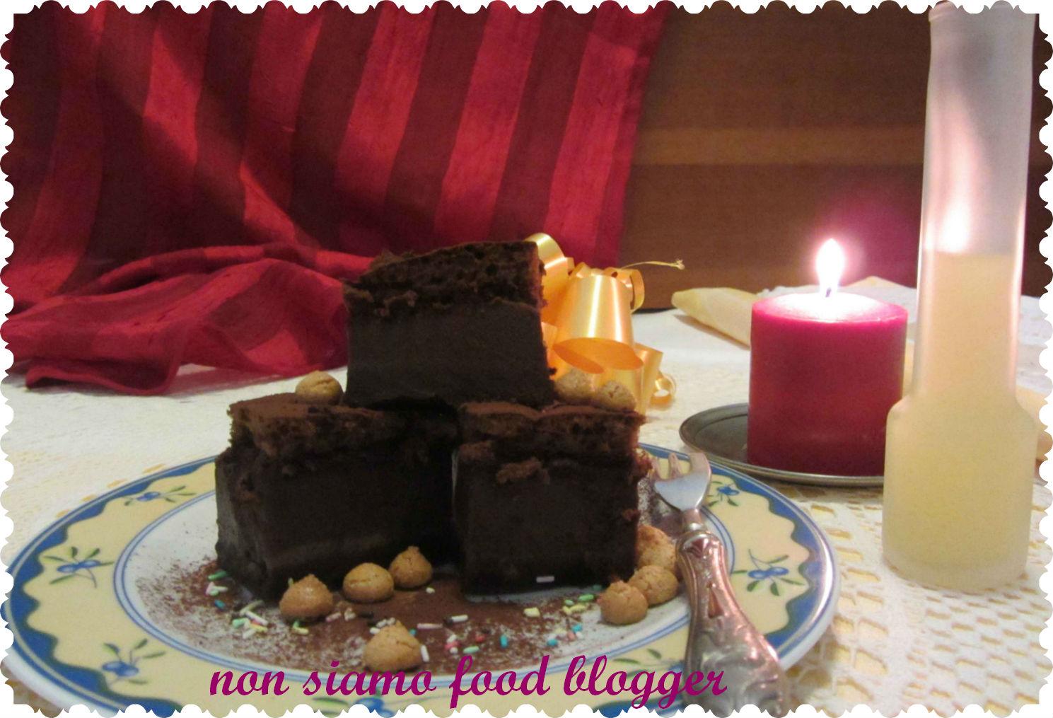 TORTA MAGICA AL CIOCCOLATO E CAFFE  (senza burro ma con latte condensato) b8233160fd73