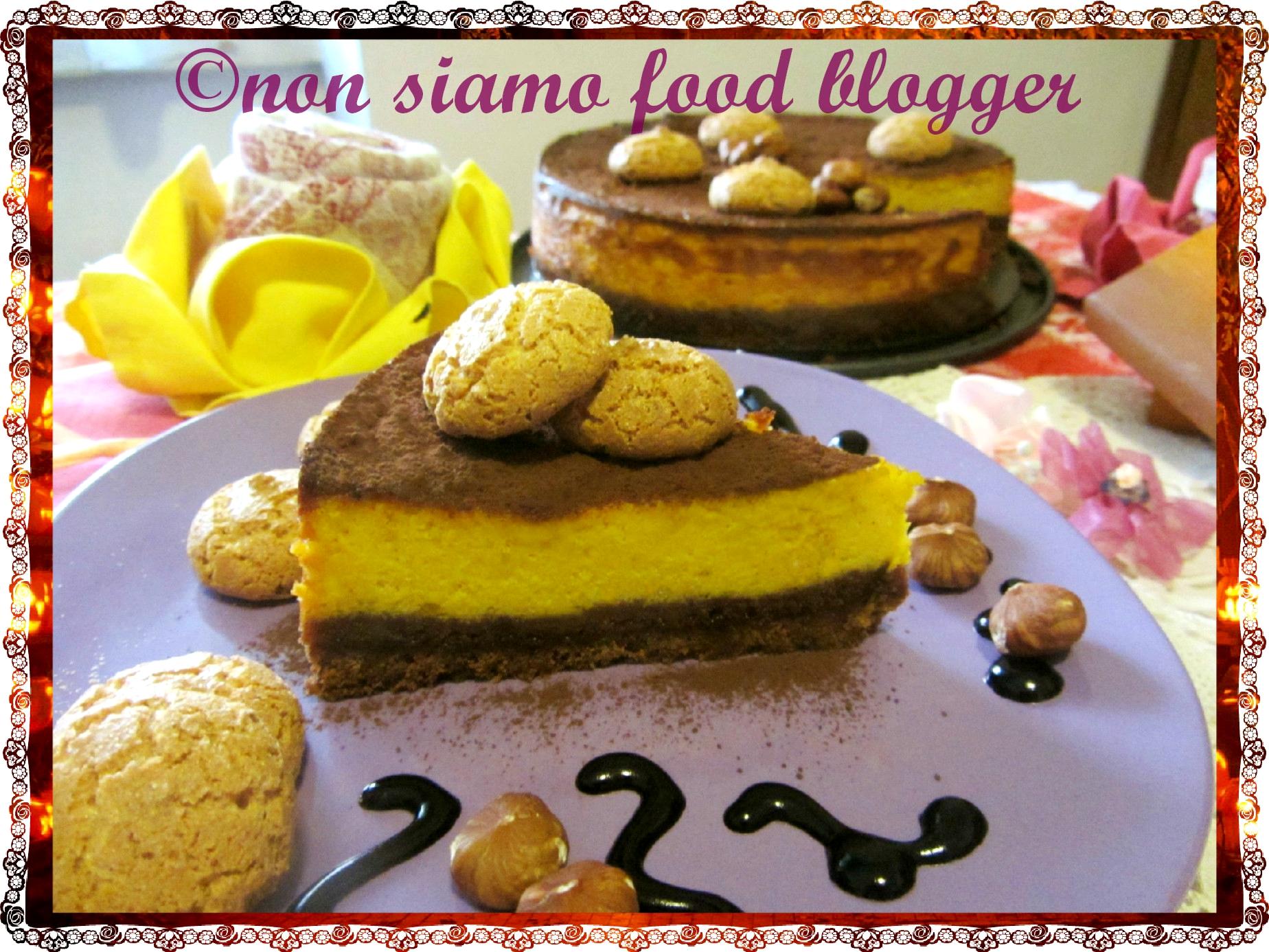 Cheesecake alla Zucca con ricotta e base di cioccolato 8a7bd92defb3