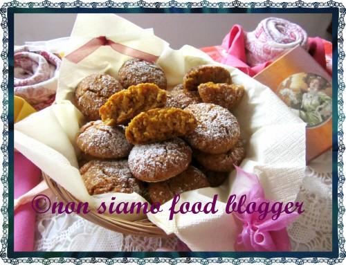 Biscotti senza glutine con Zucca e Mandorle