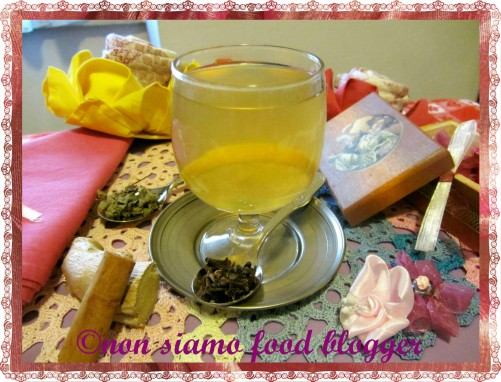 Tisana zenzero, cannella,chiodi di garofano ed origano