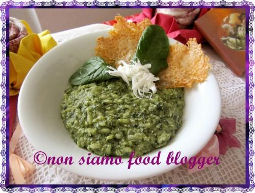 Risotto Spinaci e Ricotta Salata