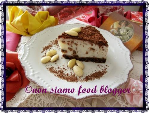 Torta Yogurt e Cioccolato Fetta