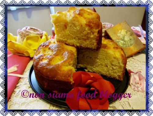 Torta Morbida di Pesche Fetta
