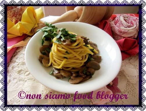 Spaghetti alla Chitarra ai funghi